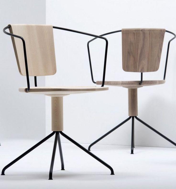 Swivel chair UNCINO by Mattiazzi | Design Ronan & Erwan Bouroullec