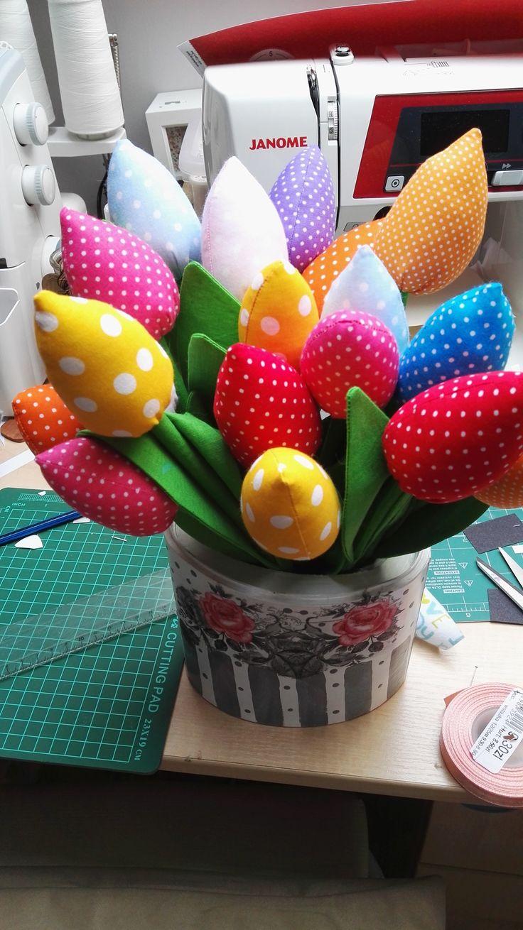 tulipanowy bukiet