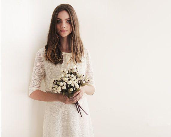Ivory long sleeves lace bridal top  Ivory bridal от BLUSHFASHION