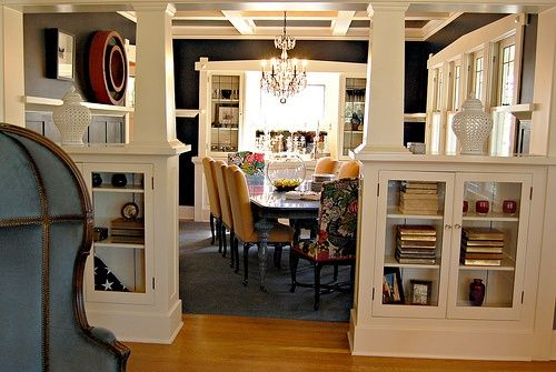 craftsman built in bookcases - Google Search