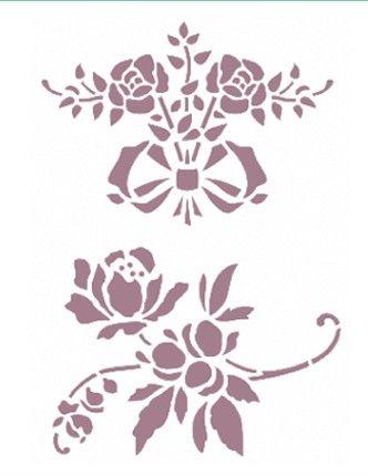 Plantilla de Stencil (15x21cm) V-134                                                                                                                                                      Más