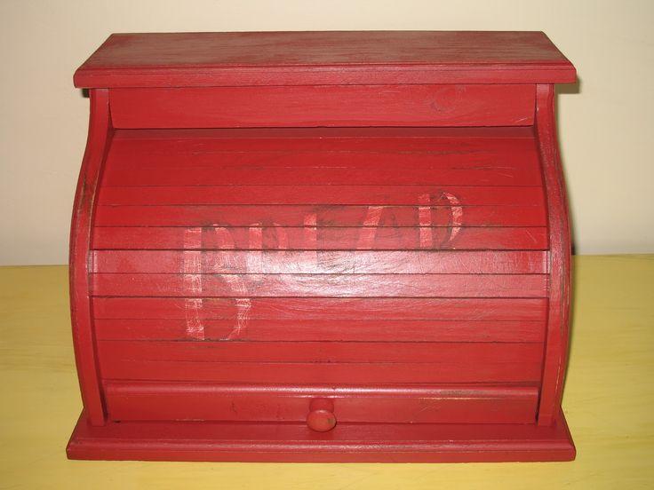Bread Box Red Google Search Kitchen Decoration