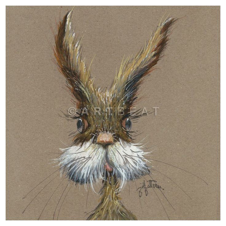 Hare. Mini canvas? Must get my son onto these!