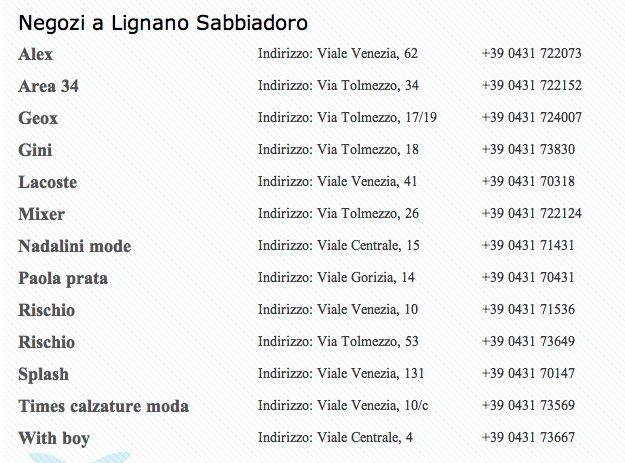 Negozi #LignanoSabbiadoro http://www.lignanosabbiadoro.com/negozi-e-shopping-lignano