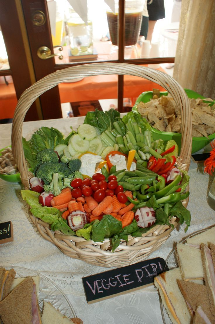 every party needs a veggie basket