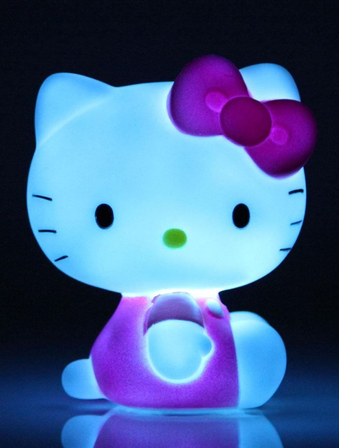 The Hello Kitty Mood Lamp. A cute light to help little ones fall into a blissful sleep.