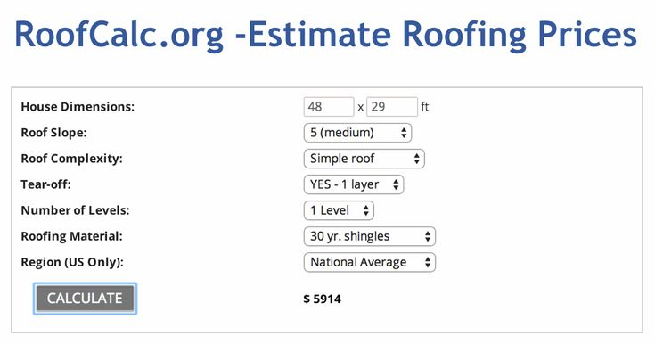 25 best roofing images on pinterest calculator beams for Cost to build home calculator