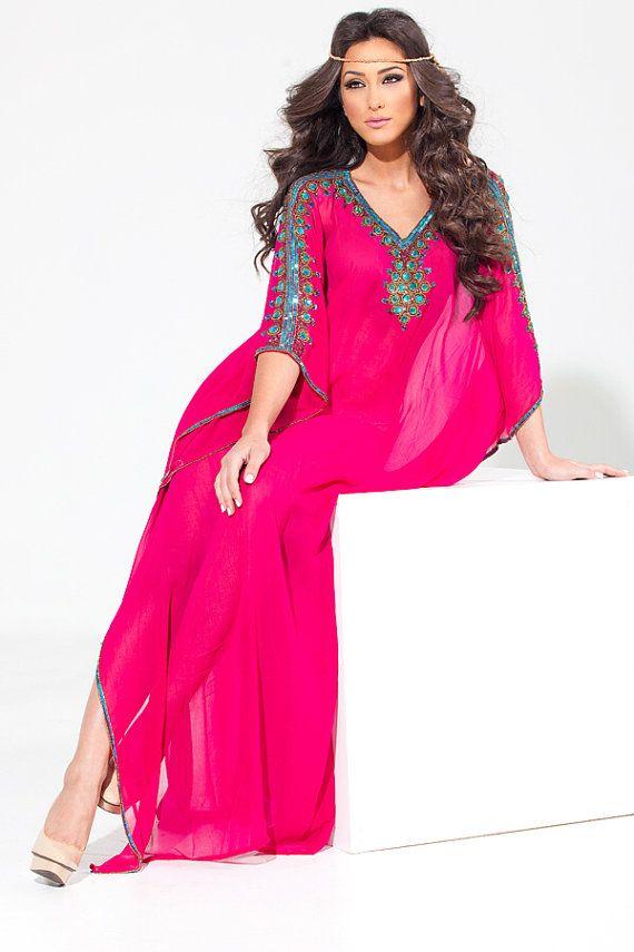 Yara Yosif Original Alia Kaftan dress by YaraYosif on Etsy, $250.00