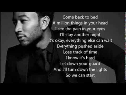 A Million - John Legend - LYRICS (On Screen)