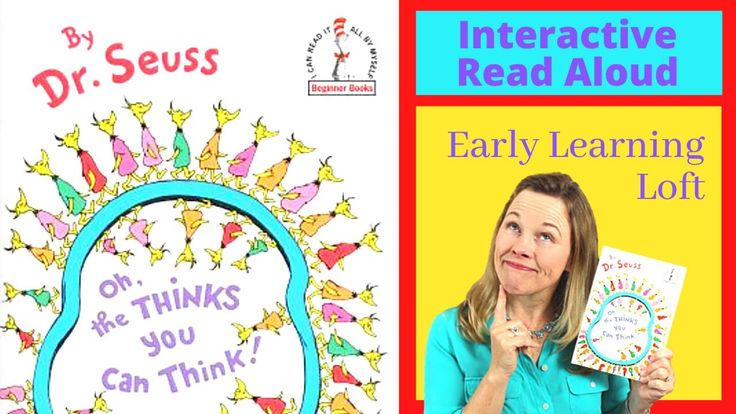 Dr seuss interactive read aloud oh the thinks you can
