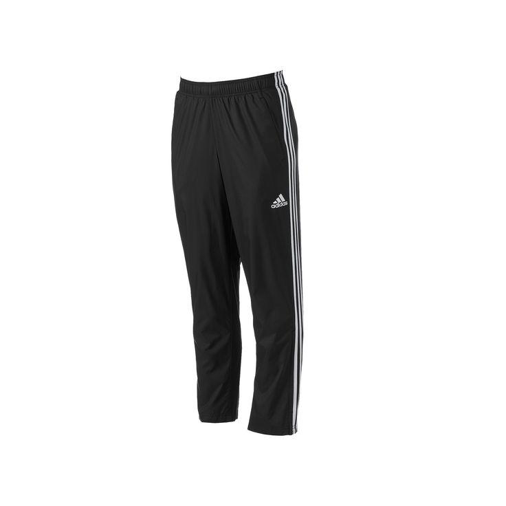 Big & Tall Adidas Woven Track Pants, Men's, Size: Xl Tall, Black
