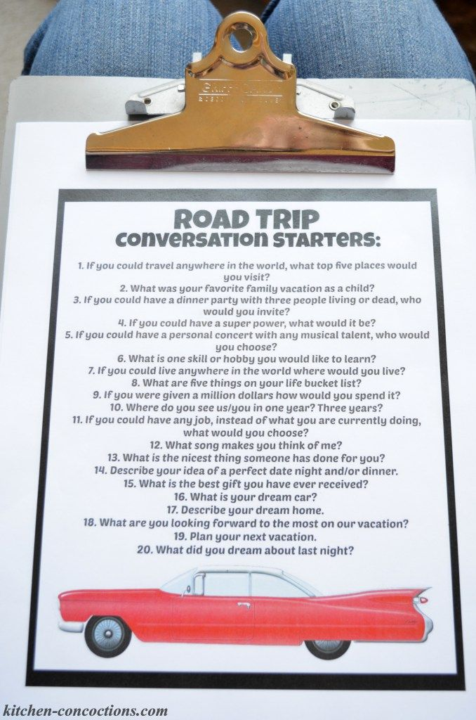 Road Trip Games and Activities for Couples