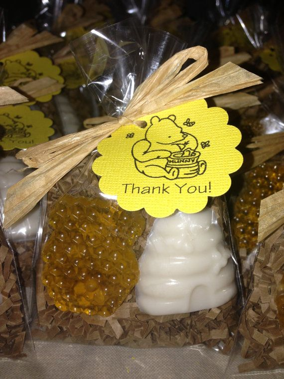 Soap favors for a baby shower Honeycomb soap beehive soap honey soap natural honey by BBSoaps