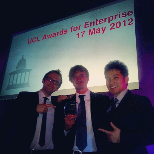 Poq studio was the winner of the Bright Ideas Award 2012.