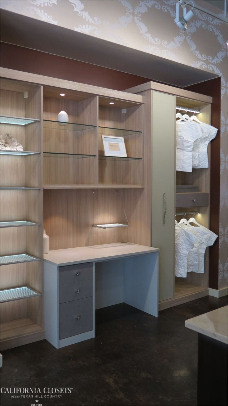 New, Luxurious Dressing Area In Our Austin Showroom! Follow Link For  Details And Close · California ClosetsClose ...