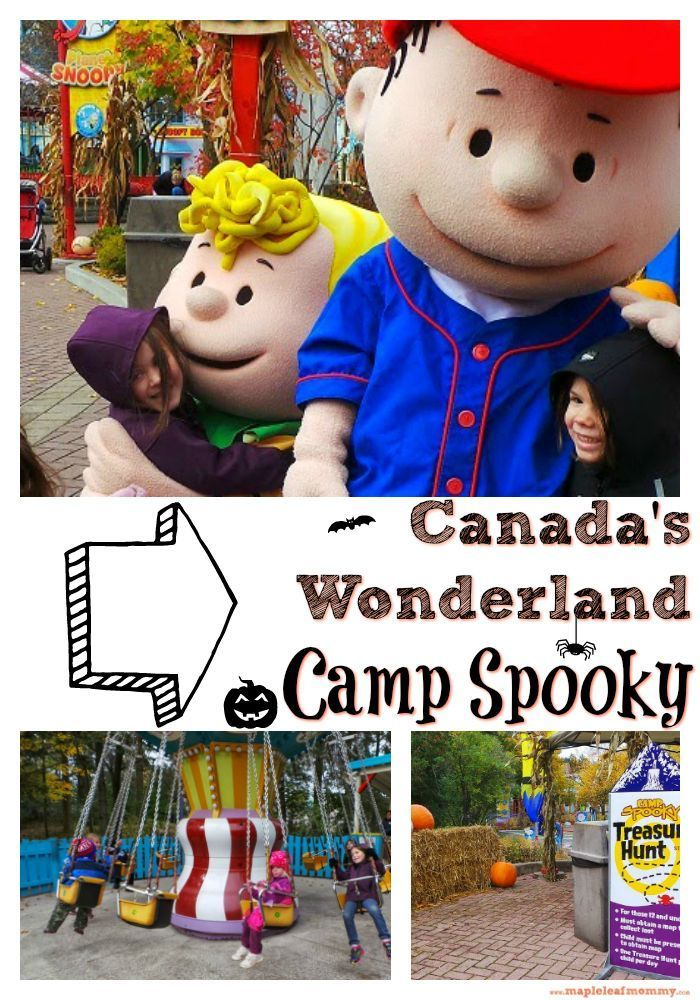 We took the kids on a trip to Canada's Wonderland to visit Camp Spooky. It was so much fun to see Planet Snoopy covered in Halloween decorations. We'd definitely take them on a vacation back there again.