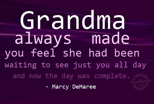 Just spoke with my Grandmama on the phone.  Now my day is complete.  ♥ you Margie Wolfe!