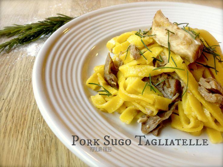 Pork Sugo Tagliatelle