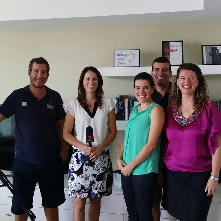 Thank you Channel 7 for the great interview with Social Media Worldwide founder Corinna Essa at her penthouse in Surfers Paradise today. Here we are with reporter Narelle Higgs & cameraman Lion Goldsworthy, as well as Corinna's husband Steven. Check out t