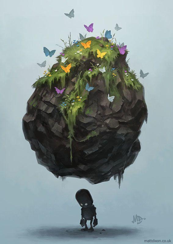 Hidden, Matt Dixon on ArtStation at https://www.artstation.com/artwork/eP2gY