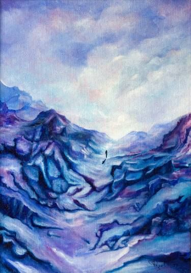 "Saatchi Art Artist Giuseppe Alberto Regoli; Painting, ""IL viaggio"" #art"
