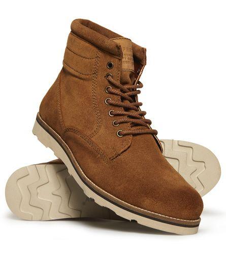 Superdry Boots Stirling Sleek Marron