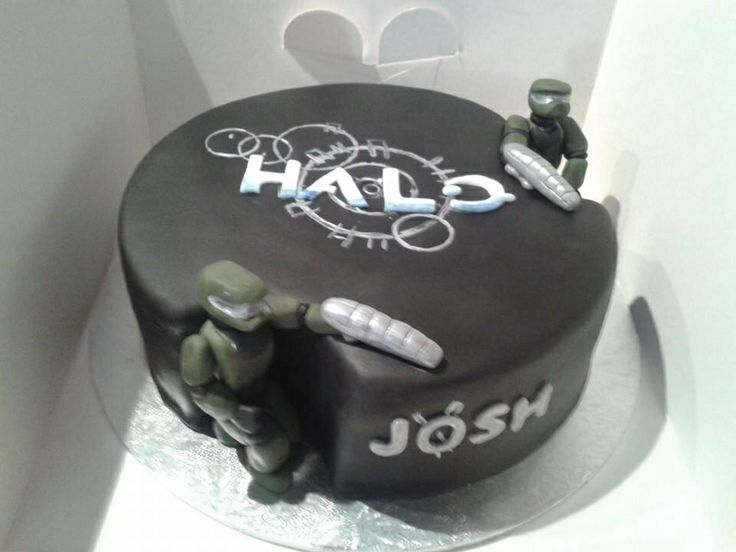 21 best Dans Halo Oarty images on Pinterest Halo cake Cake ideas