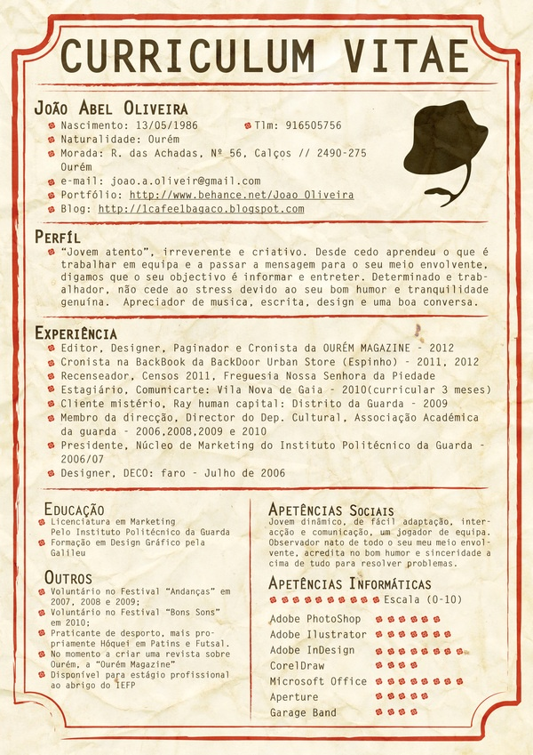 8 best fashion resume samples images on pinterest