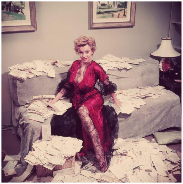 Marilyn Monroe A Wonderful Time - Slim Aarons (Photo by Slim Aarons: Getty Images, 1952).
