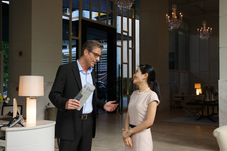 Oriental Residence Bangkok offers refined accommodation in the centre of Bangkok.