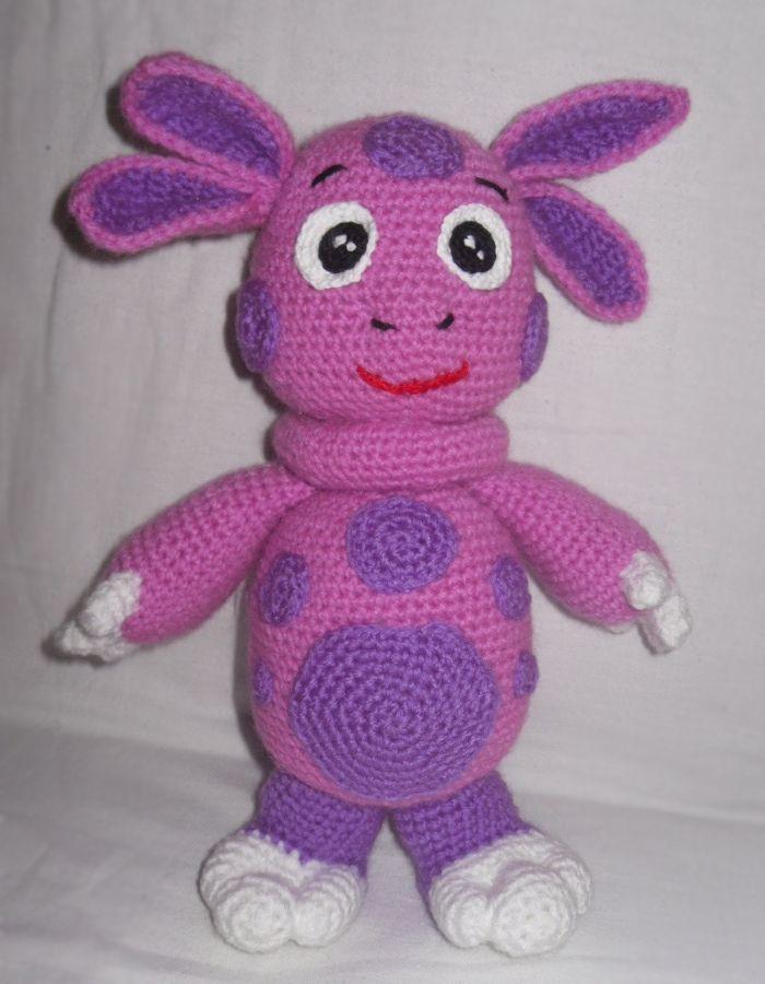 схема для вязания игрушки.