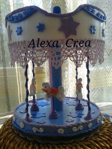 cake topper in pasta mais