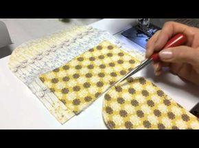 主婦のミシン 立つペンケースの作り方No.2 pen case stand - YouTube
