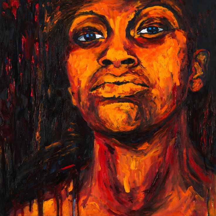 Look me at the eyes and fell how I am feeling. #africanart #blackwomen #africanwomen #afrodescendent #africanroots African Women, African Art, Woman Painting, Roots, Black Women, Eyes, Portrait, Headshot Photography, Portrait Paintings
