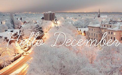 Люблю зиму. Смотришь в окно,  а город будто в кокосовой стружке... Привет, Декабрь! 🎄🎅🎁