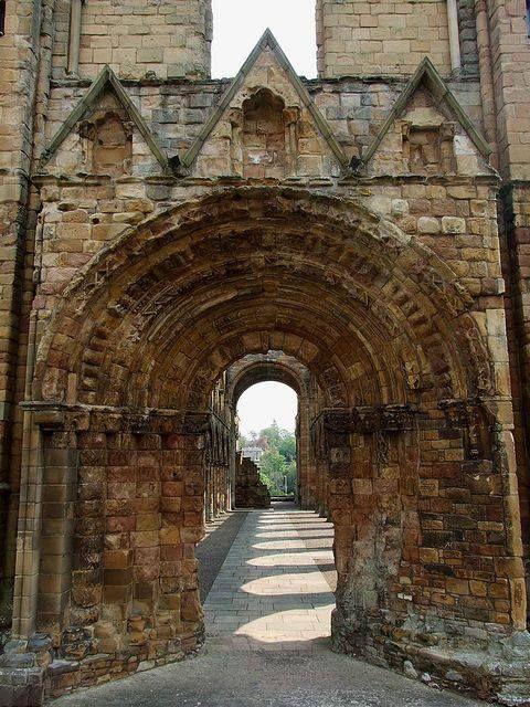 Jedburgh Abbey - Jedburgh, Scotland