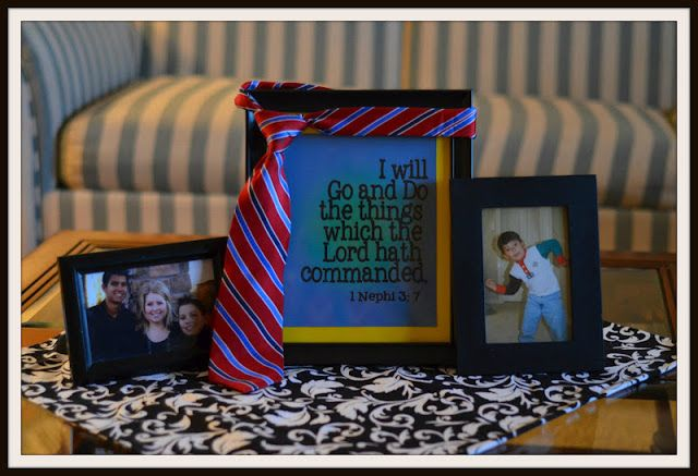love this picture frame and quote idea!