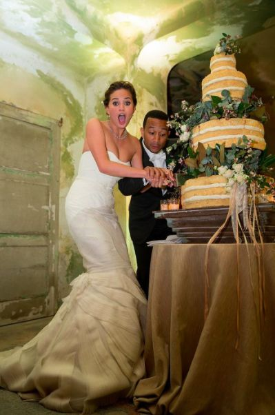 John legend weddingcarrot cakes cake wedding john legends wedding
