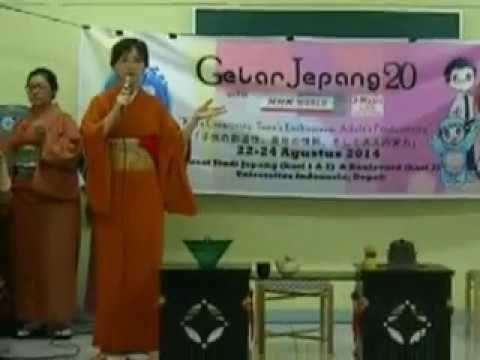 Japanese Tea Ceremony workshop at Gelar Jepang UI 2014