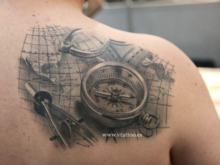 tatuajes mapa buscar con google moda y viaje pinterest tatoo tattoo and tatting. Black Bedroom Furniture Sets. Home Design Ideas