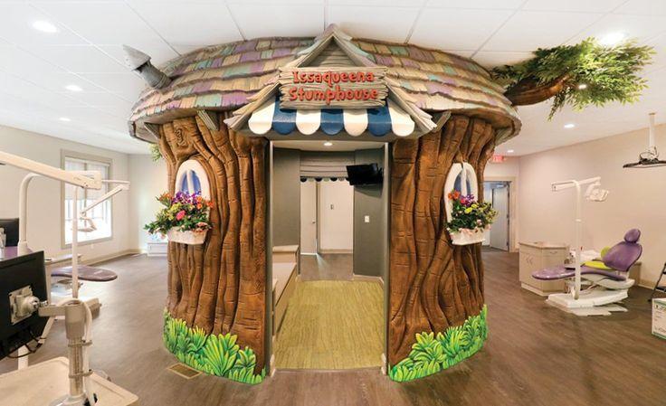 Funny Elephant in Themed Pediatric Dental Office | Imagination Dental Solutions