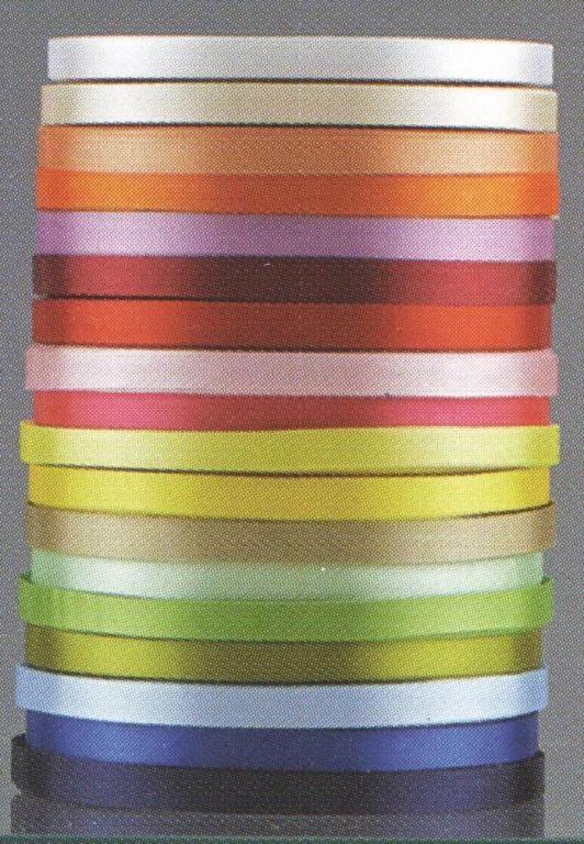 Κορδέλα σατέν 1,80 €  για φιογκάκια και στολισμούς.Η κορδέλα είναι σε ρολό των εκατό μέτρων.