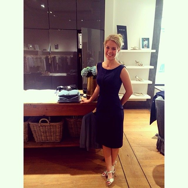 Our Store assistant wearing ELISE GUG SS14