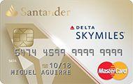 Delta Sky Miles | MasterCard | Santander