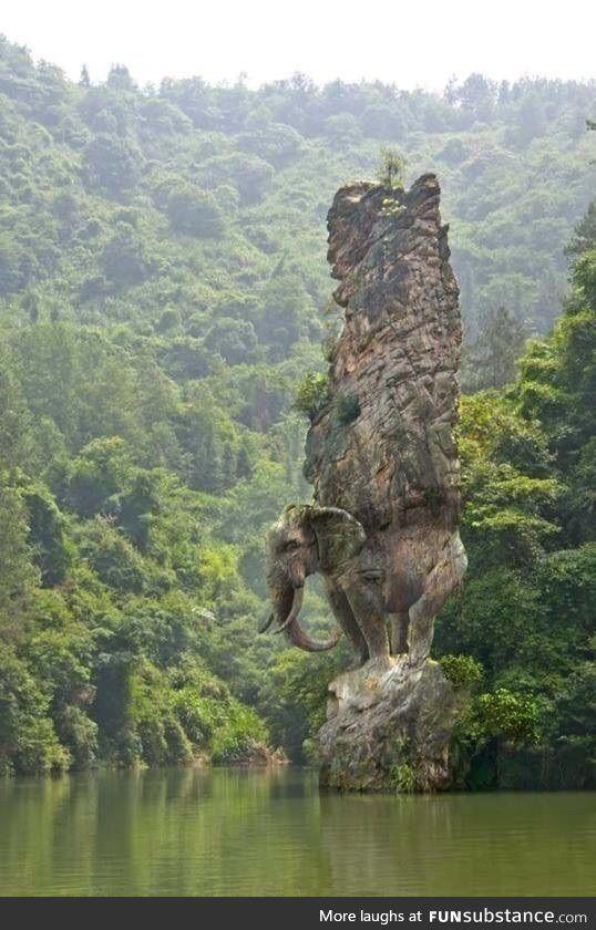 Elephant Pillar in India