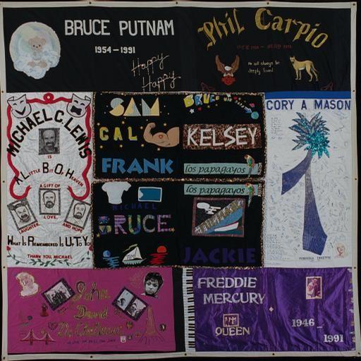 57 best AIDS Memorial Quilt images on Pinterest   Block quilt ... : aids quilt names - Adamdwight.com