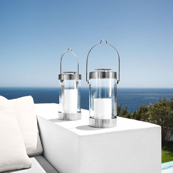LUMBRA Lantern with Candle - Blomus Online Shop www.blomus.com.au