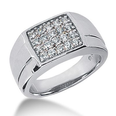 Jewelry Point - Square 0.70ct Pave-Set Diamond Men's Pinky Ring, $1,590.00 (http://www.jewelrypoint.com/square-0-70ct-pave-set-diamond-mens-pinky-ring/)