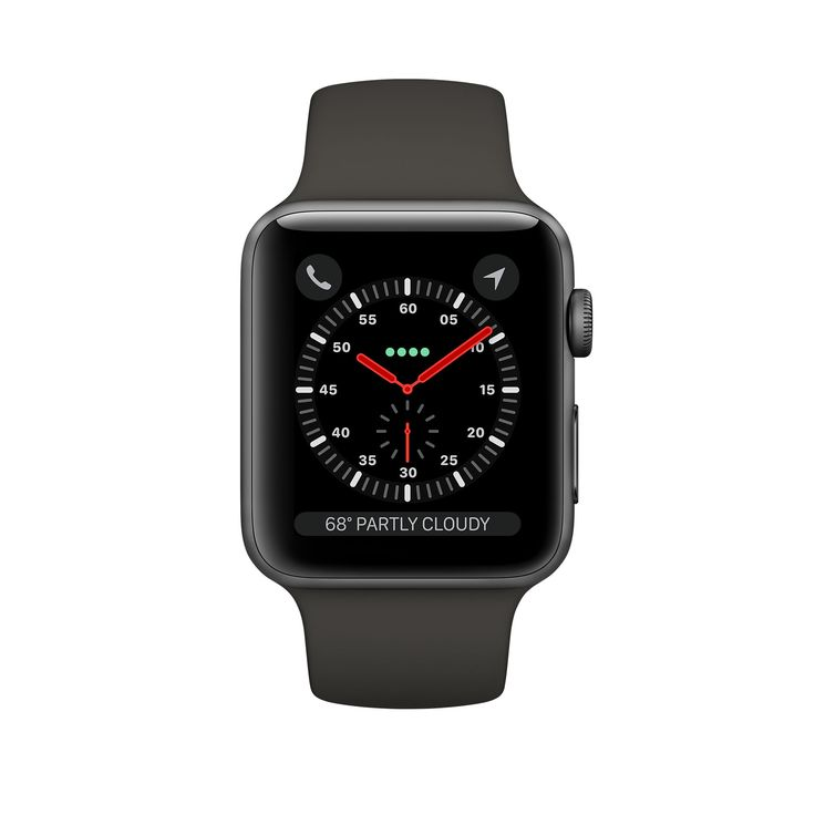 Shop Apple Watch Space Gray Aluminum Case with Gray Sport Band in 38mm and 42mm. Available with built-in cellular. Buy now with free shipping.