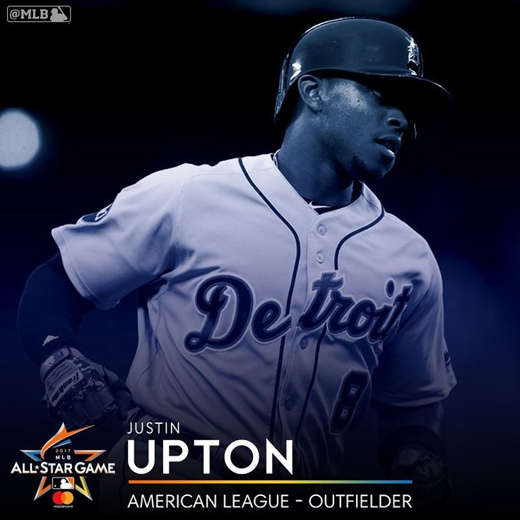 """11.1k Likes, 92 Comments - @tigers on Instagram: """"Congrats Justin Upton on being added to the American League All-Star Team!"""""""